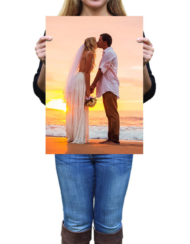 Large photo poster