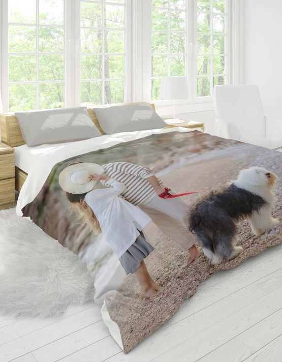 Duvet Covers Produc Shot Dog and Couple
