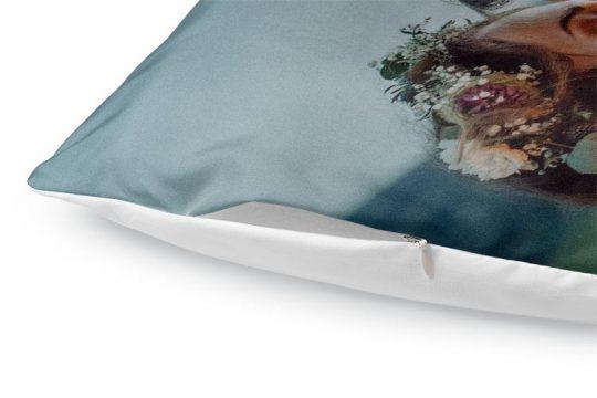 custom duvet cover color detail plus zipper bright white