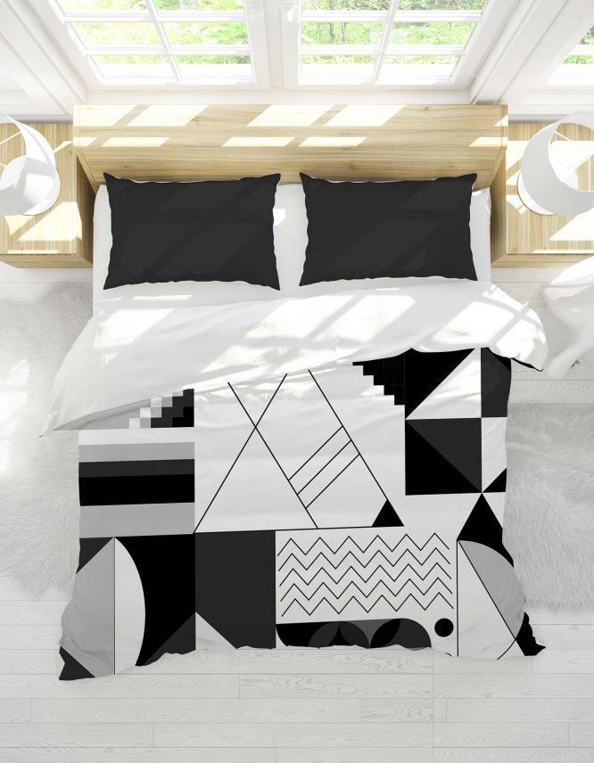 custom duvet cover with pattern