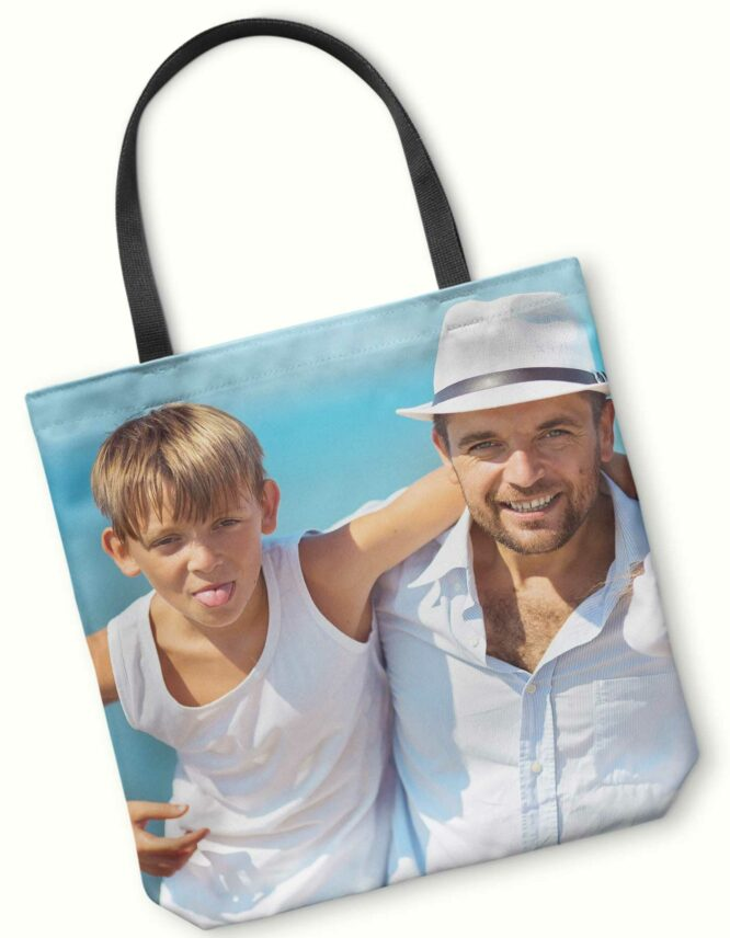 custom tote bag for dad