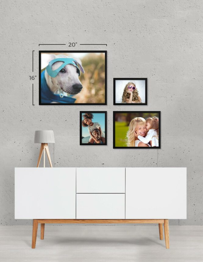 GoodPrints Framed Photo Prints Collage Wall