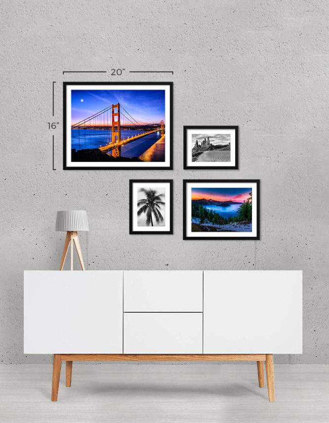 Framed Photo Prints Gallery Wall