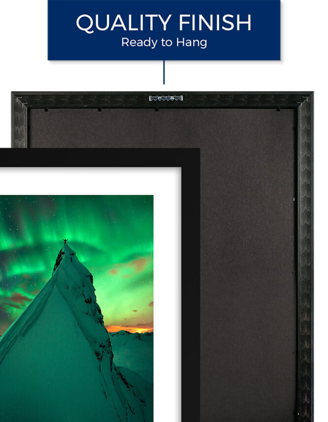 Framed Photography Prints with Matting