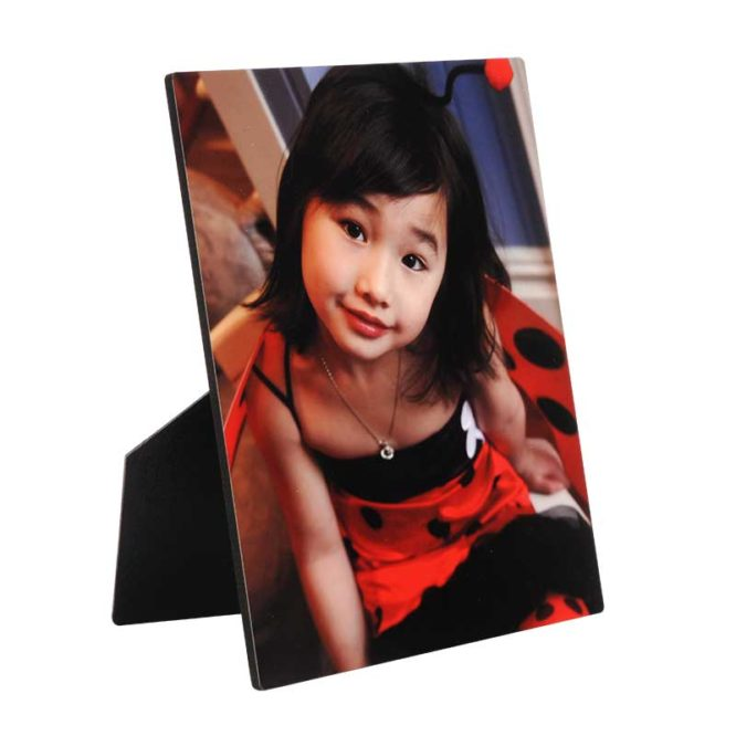 Custom Desktop Photo Plaque - Includes Easel Back 1