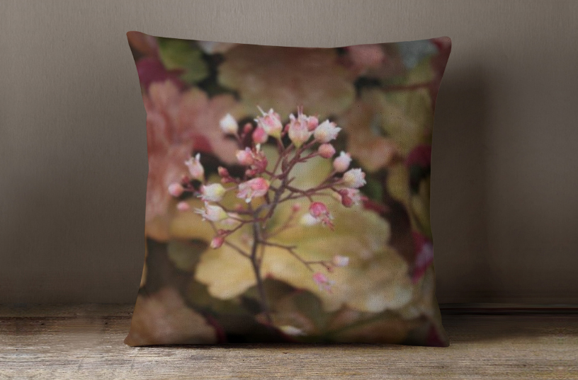 fall flowers pillow
