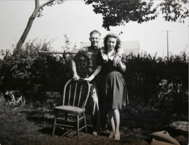 old photo metal photo print