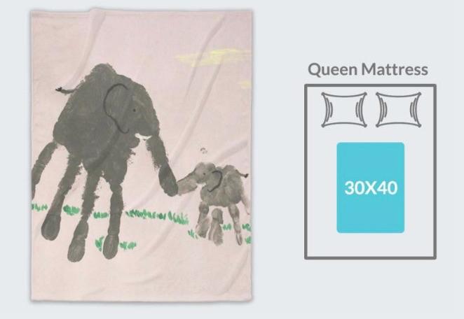 elephant hands blanket