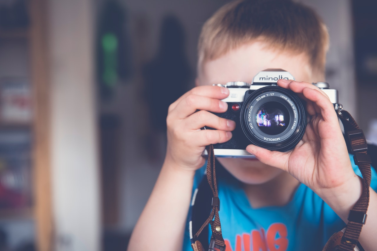Simple Activities to Help Teach Photography to Kids 2