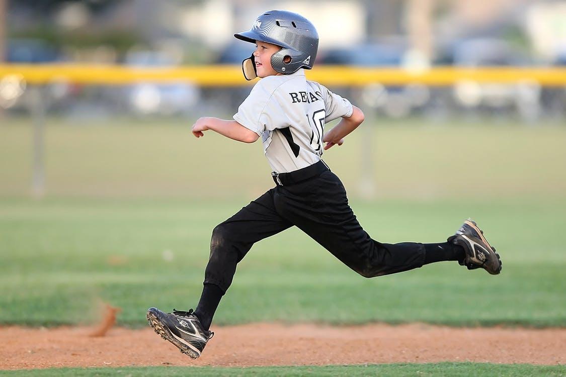 kid baseball player