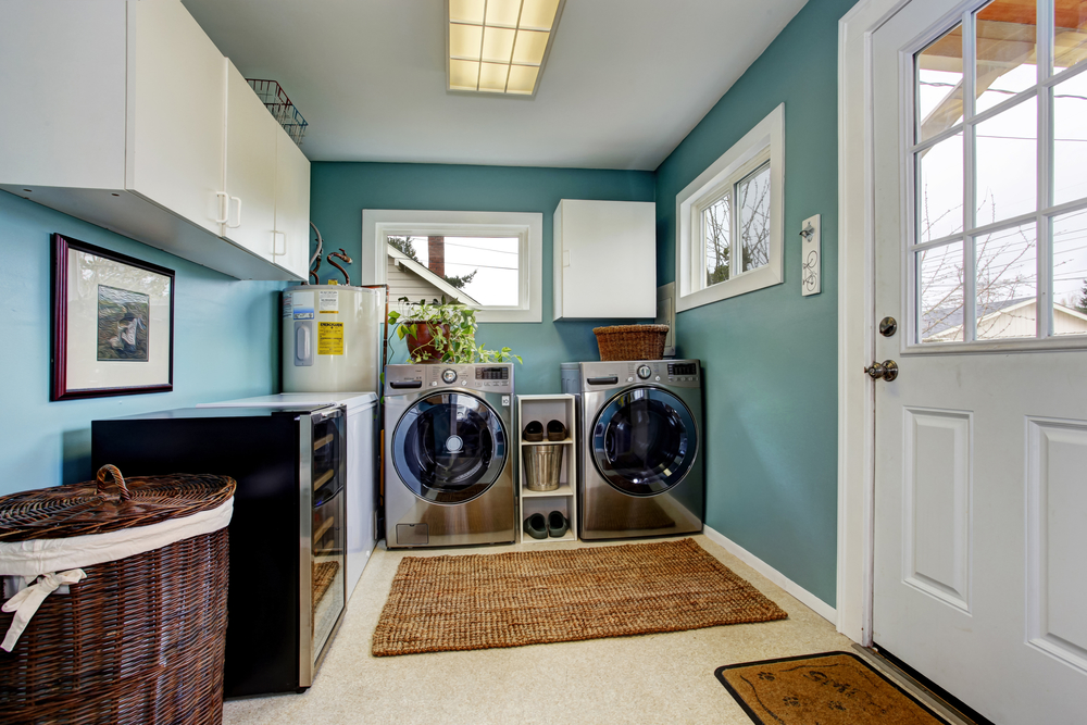 7 Fun Laundry Room Decorating Ideas