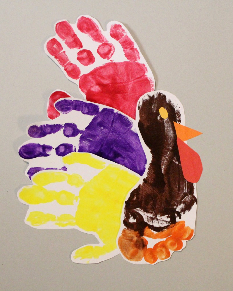 Thanksgiving Handprint Art: Ideas and How To 2
