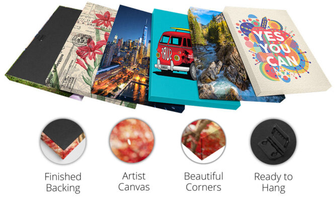 Canvas Prints Features