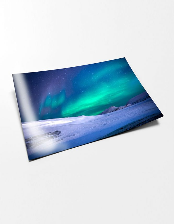 Landscape photography print on Fujicolor DpII Crystal Archive photography paper