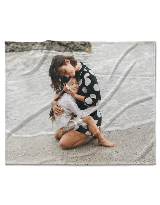 Custom Fleece Photo Blanket 3