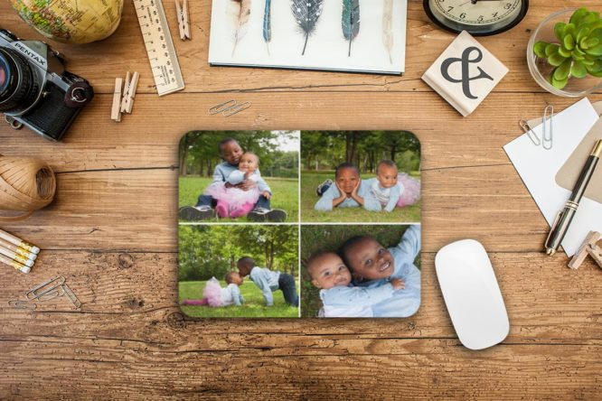 Collage Photo Mouse Pad 2