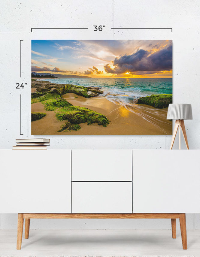 custom canvas prints of landscape