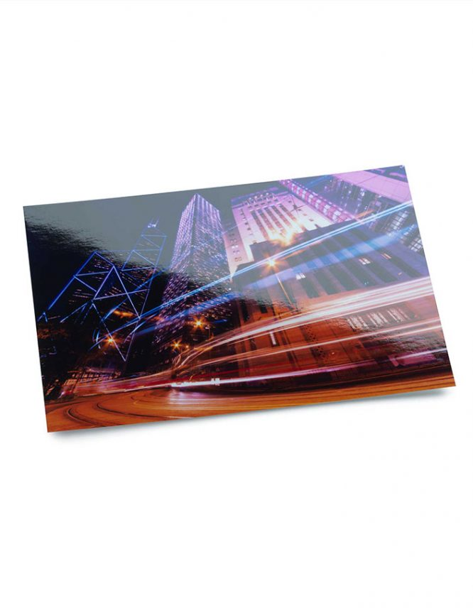 cityscape long exposure on Fujifilm Crystal Archive Photography Paper