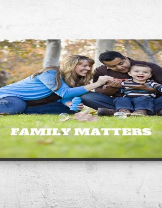 family maters personalized photo mousepad