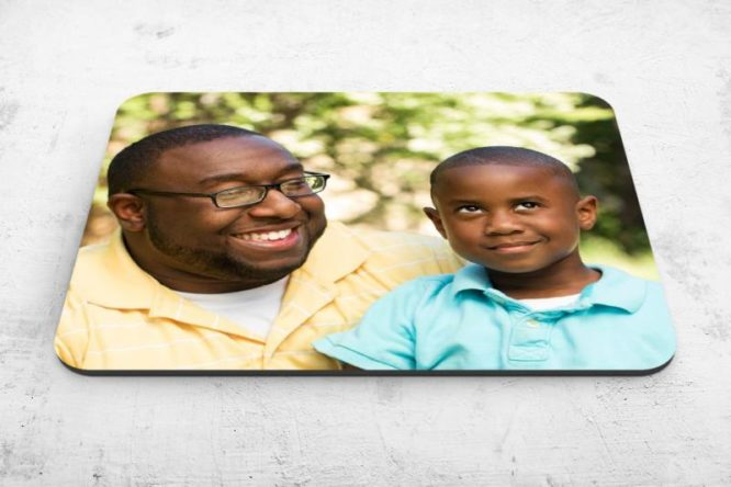 fun with dad fathers day custom photo mousepad gift