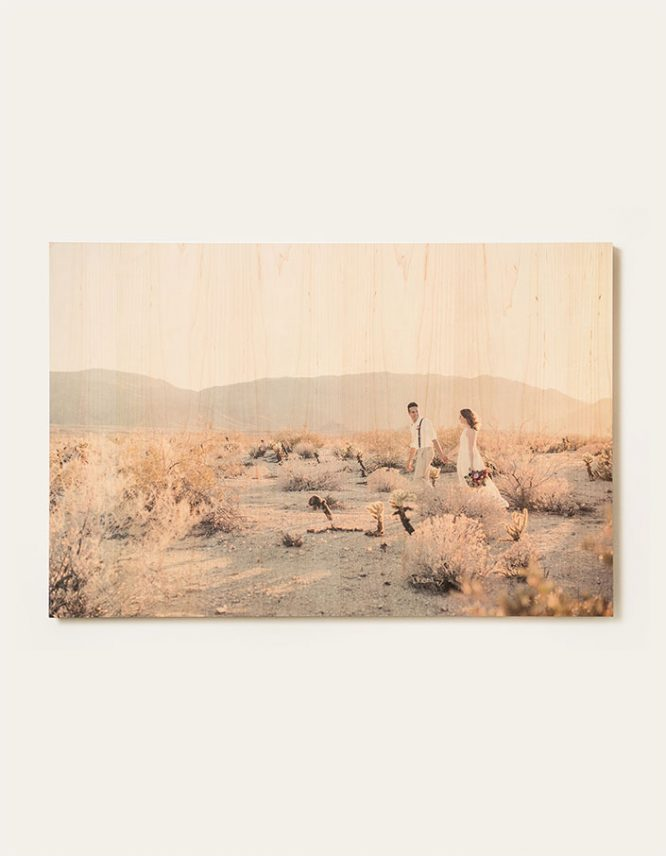 wedding photography on wood prints