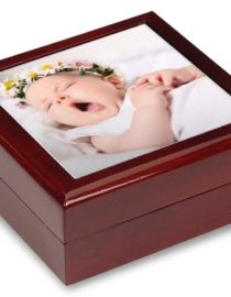 baby photo keepsake box