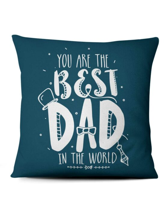 Custom Photo Pillow - Best Dad in the World 3