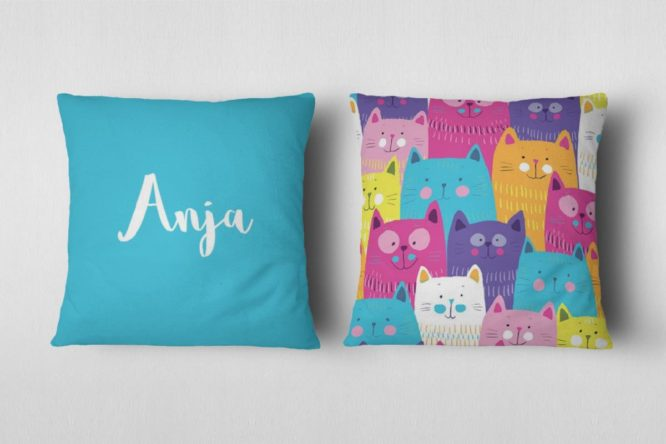 personalized indoor photo pillow