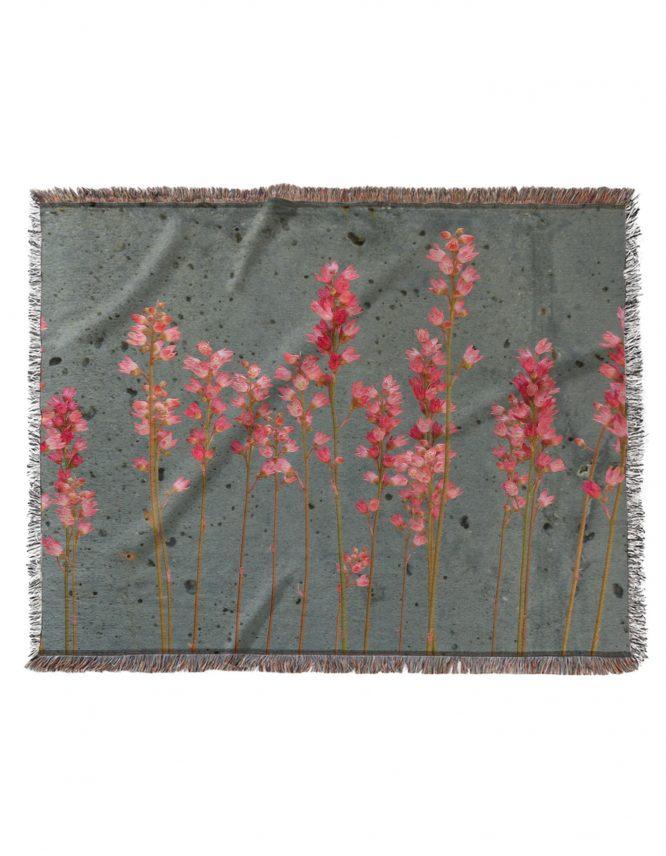 Premium custom woven blanket