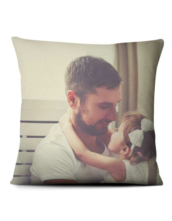 Full-Size Photo Custom Throw Pillow 1