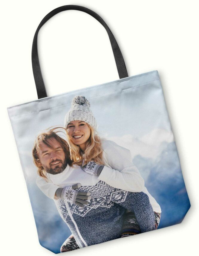 custom design photo tote bag