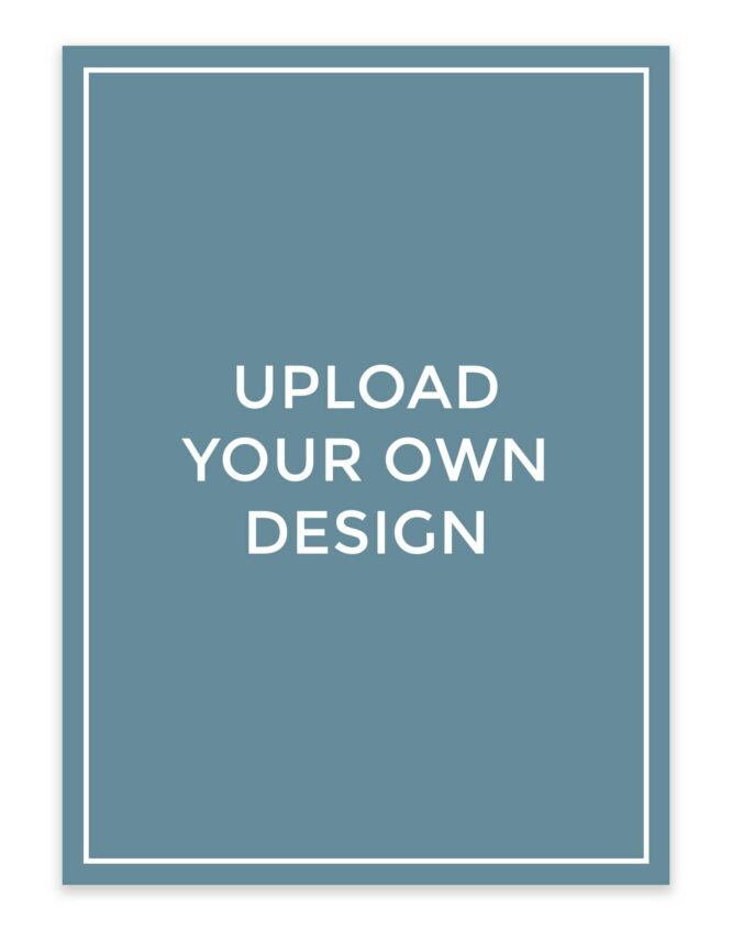 design your own custom photo card