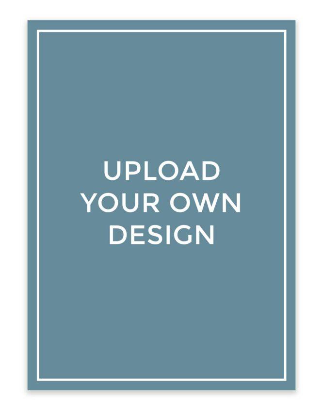 design your own custom photo card