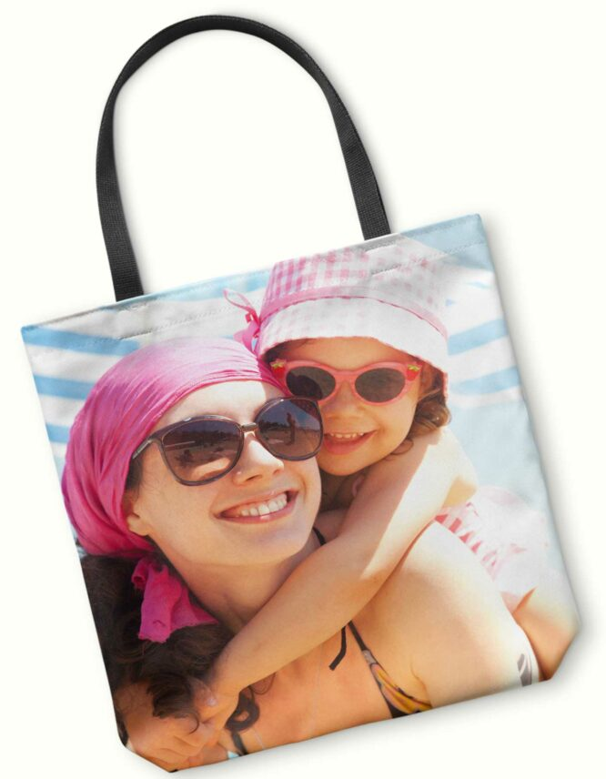 wonderful mother photo tote bag