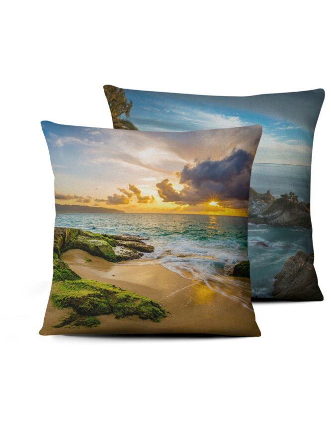 double sided full size photo printed pillow