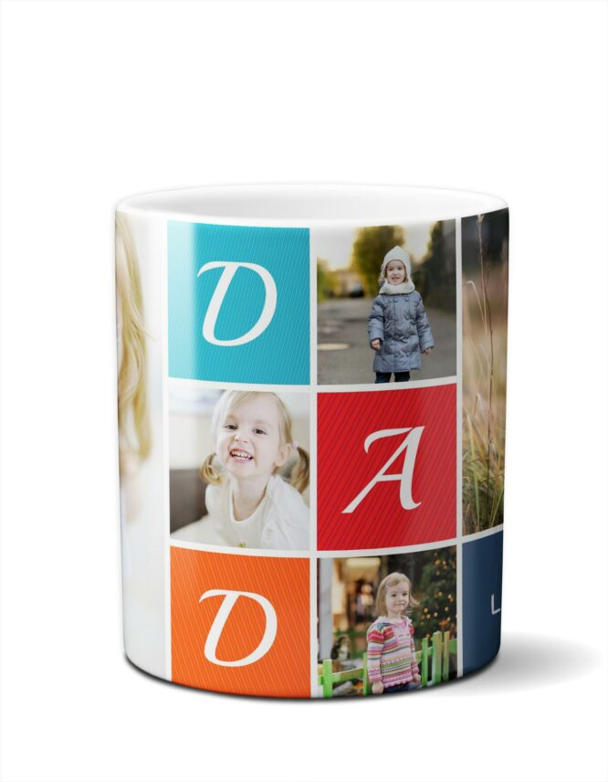 great fathers day photo mug
