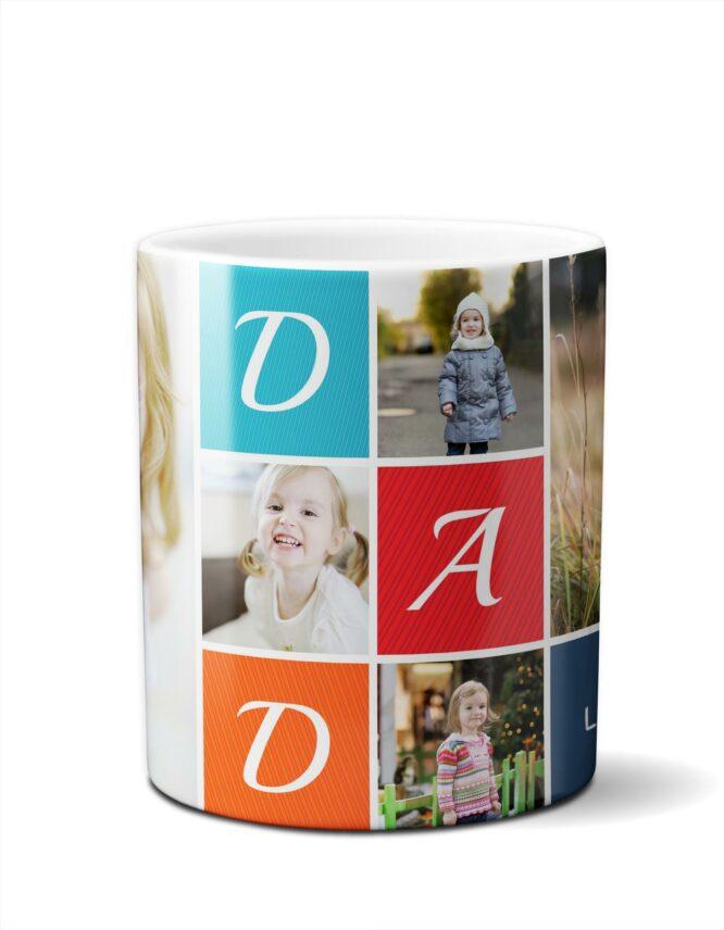 great fathers day photo mug