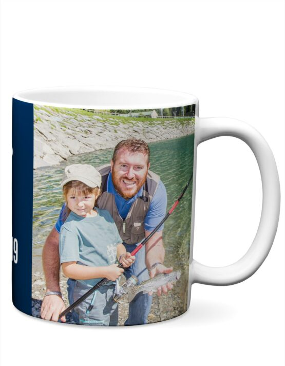 """Tug is the Drug"" Fathers Day Photo Mug 2"