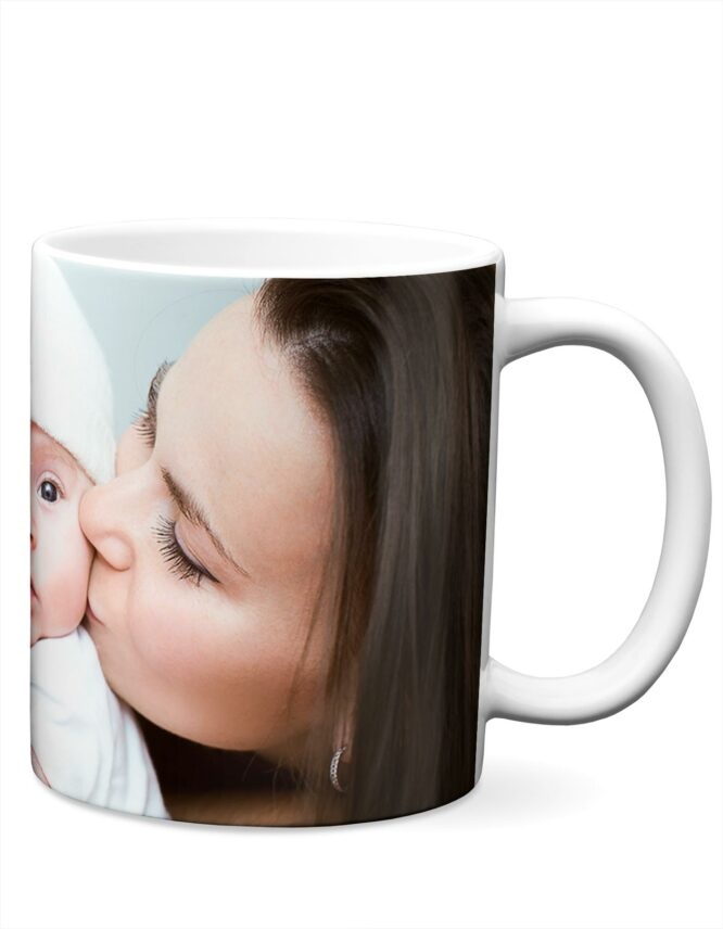 11 and 15 oz Custom Photo Mugs with a family picture from Goodprints