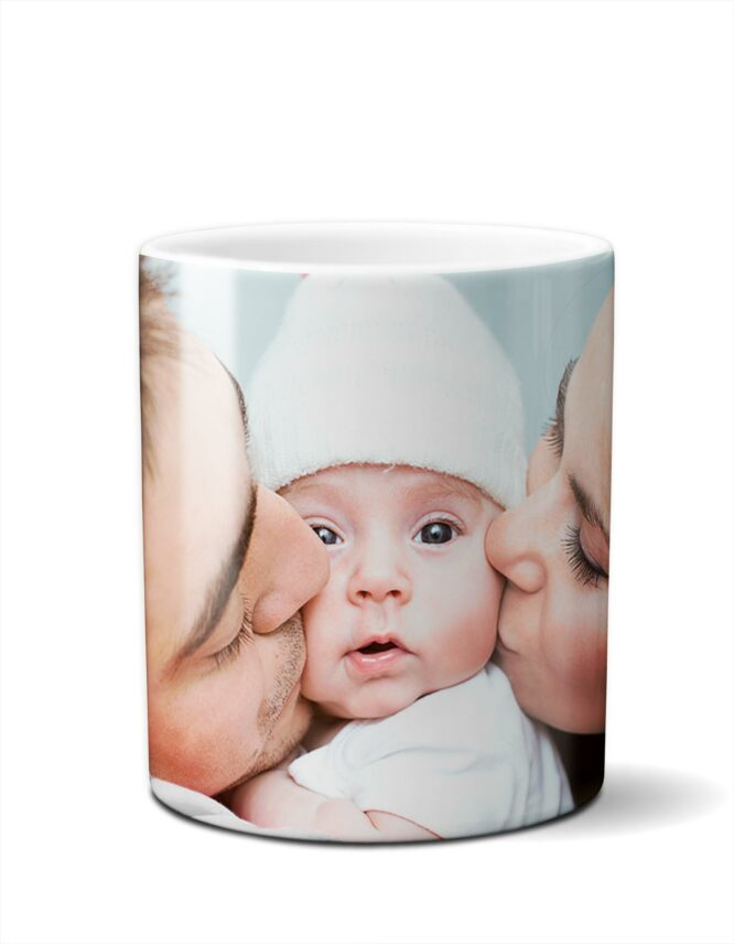 fun family photo mug