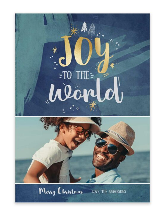 Joy To The World Holiday Card 4