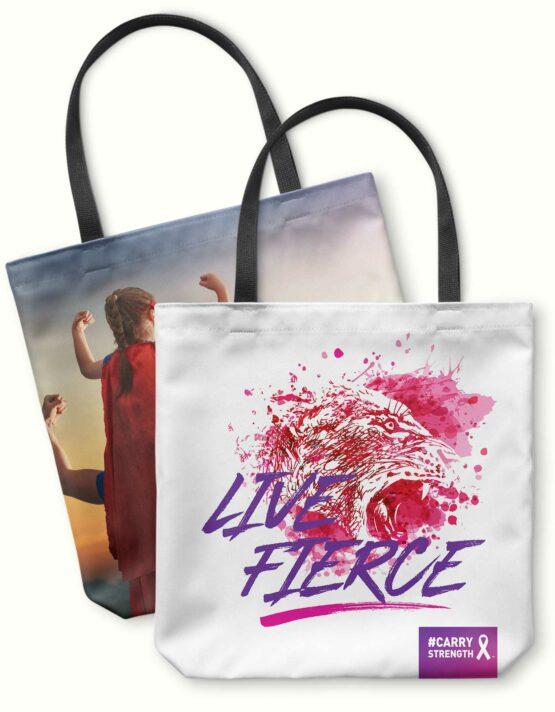 Live Fierce Photo Tote Bag 1