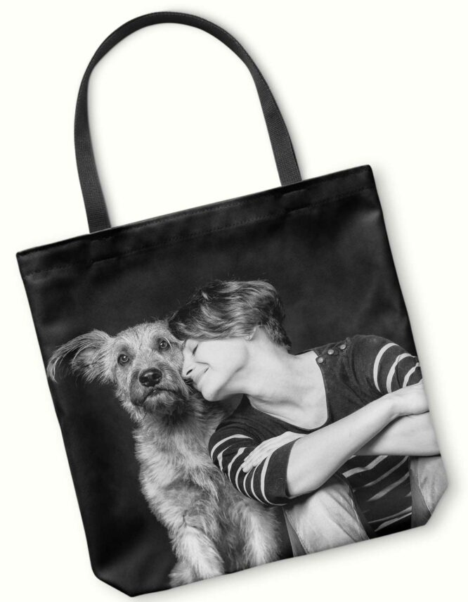 Lioness Photo Tote Bag 2
