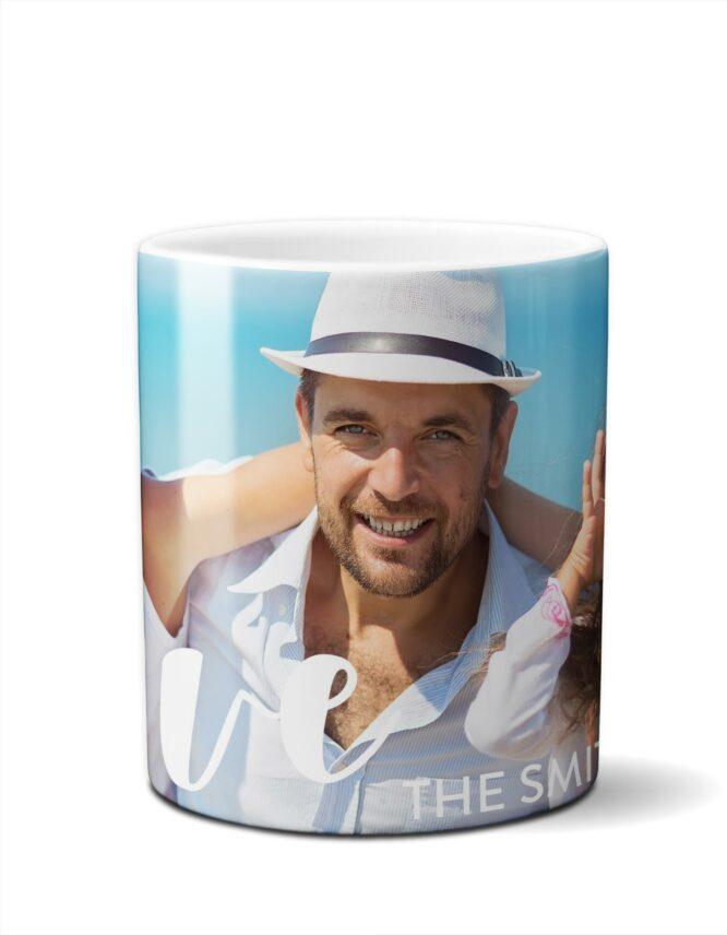 fun family coffee photo mug
