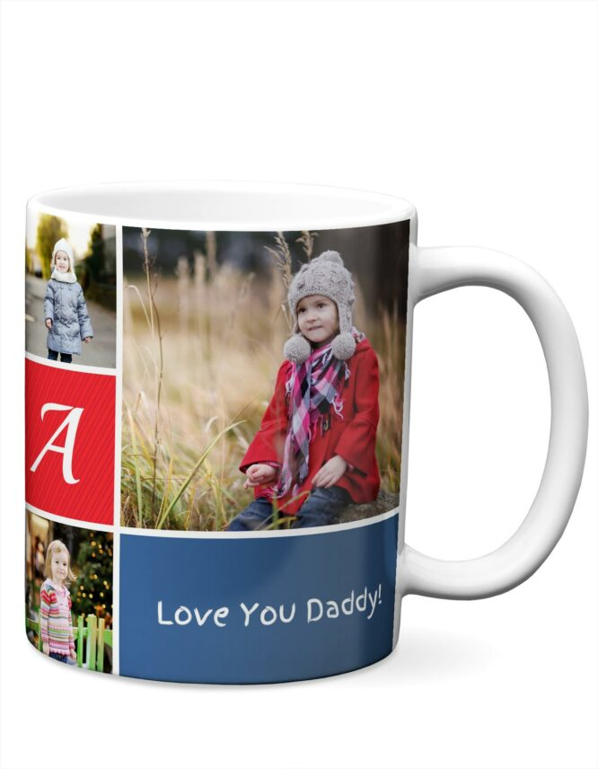 Personalized Ceramic Mug for Dad from goodprints