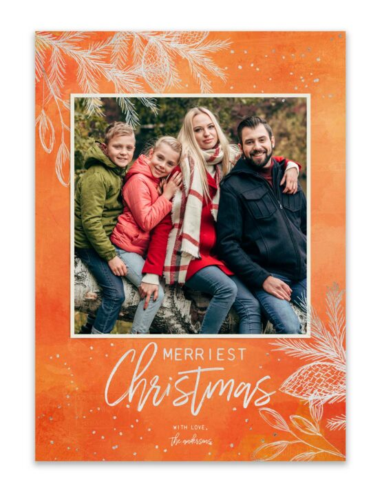 Merriest Christmas Holiday Card 2