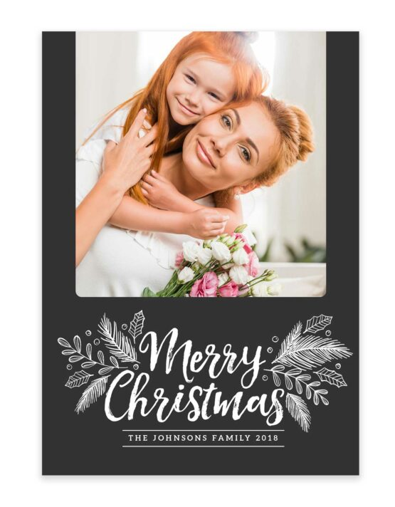 Merry Christmas Family Greeting Card 3