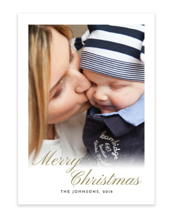 Merry Christmas And Warmest Wishes Card 3