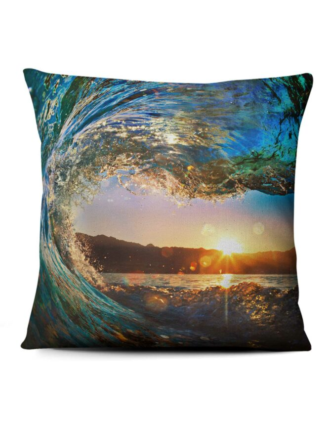 rip curl full size photo pillow print
