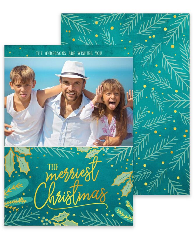 Fun family christmas cards